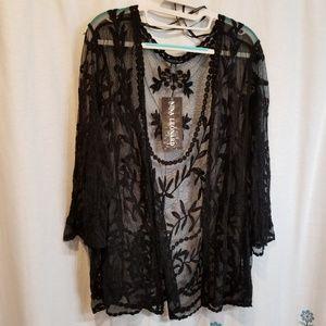 Nwt gorgeous lace jacket